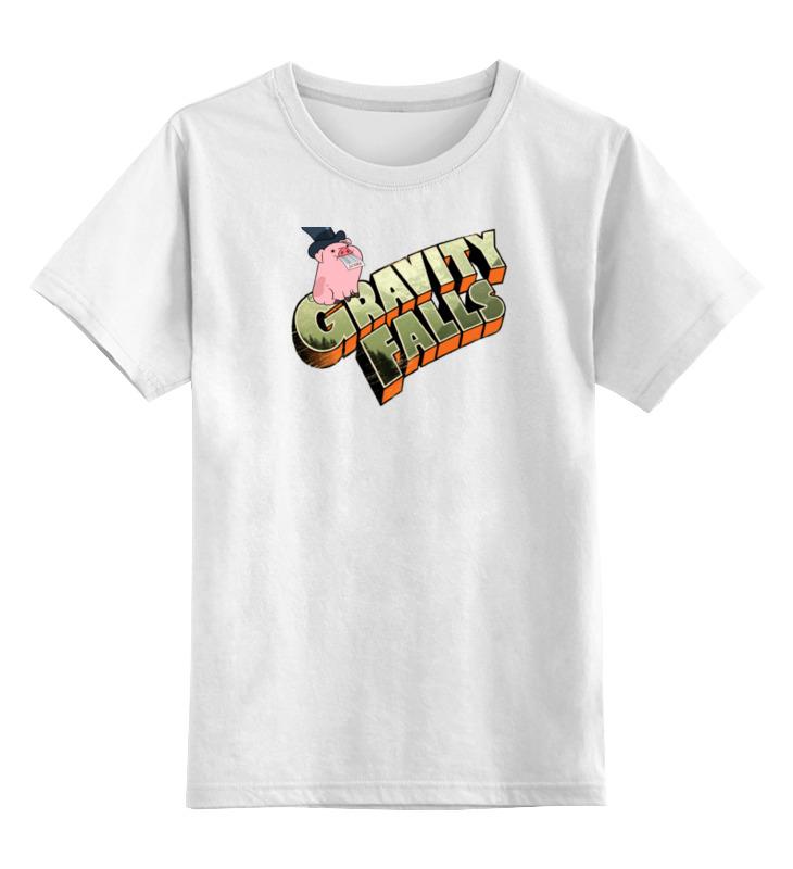 Детская футболка классическая унисекс Printio Gravity falls pig детская футболка классическая унисекс printio the blind pig 2