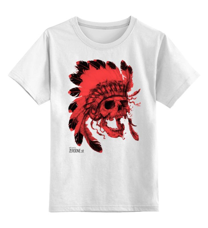 Детская футболка классическая унисекс Printio Skull детская футболка классическая унисекс printio skull 3