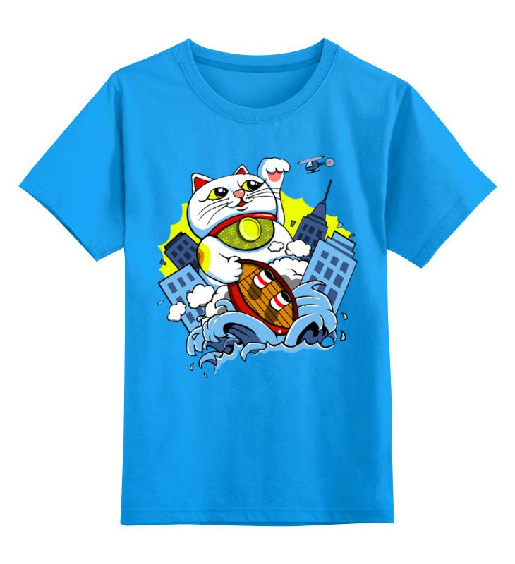 Printio Котик детская футболка классическая унисекс printio дождливый вечер