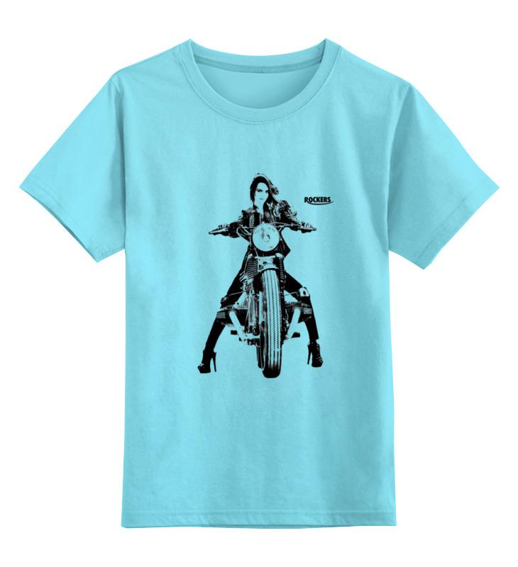 Детская футболка классическая унисекс Printio Rockers