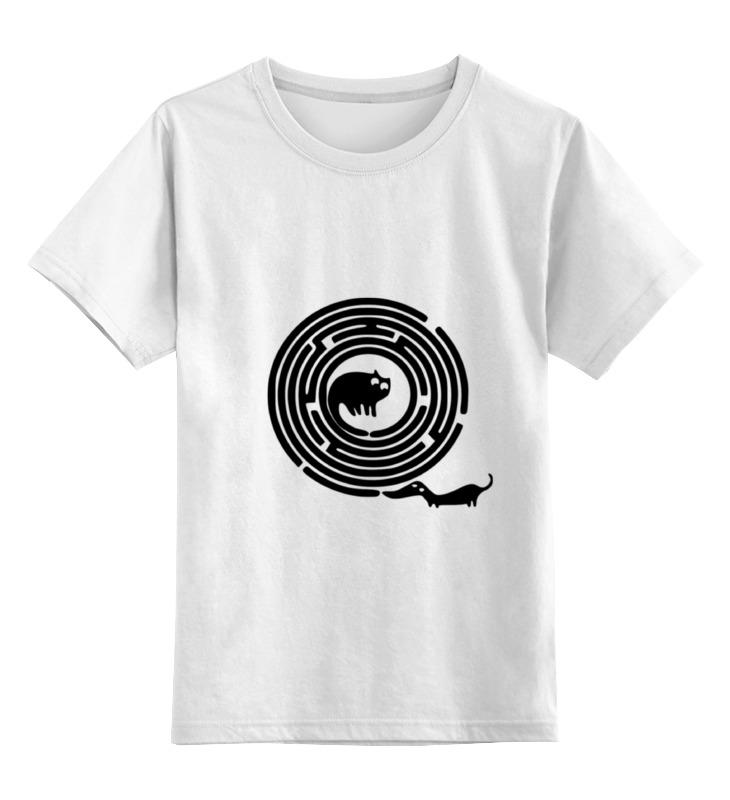 Детская футболка классическая унисекс Printio Лабиринт детская футболка классическая унисекс printio лабиринт qhd