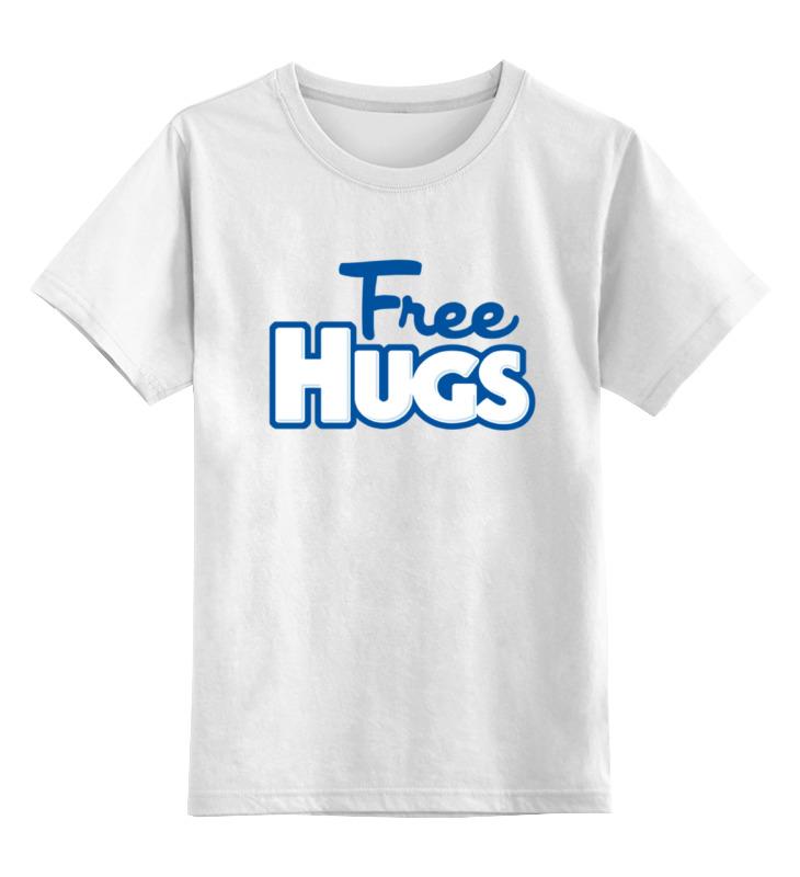 Printio Бесплатные обнимашки майка классическая printio бесплатные обнимашки
