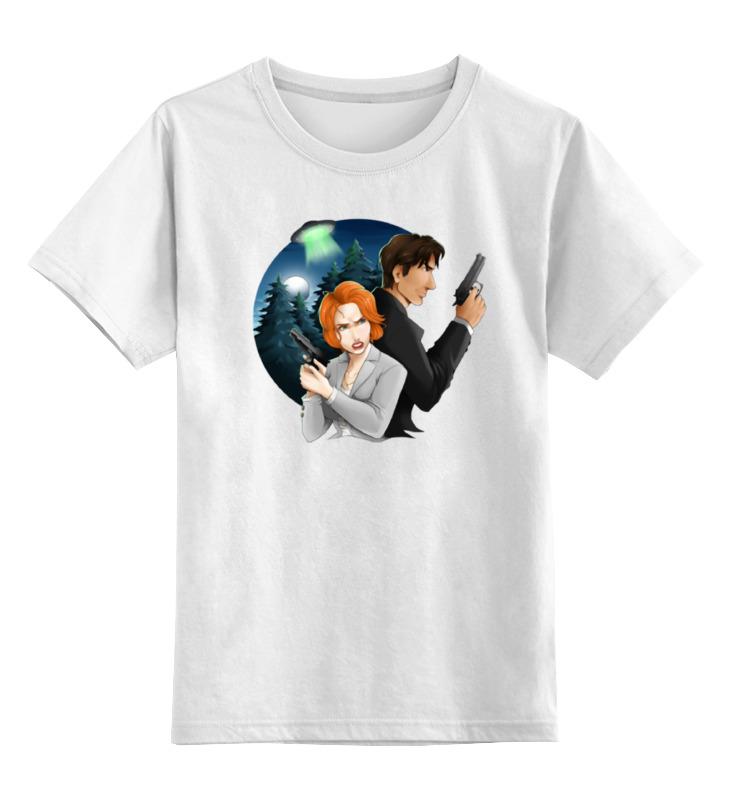 Детская футболка классическая унисекс Printio I want to believe детская кожаная обувь to want to ps14xz018 2015