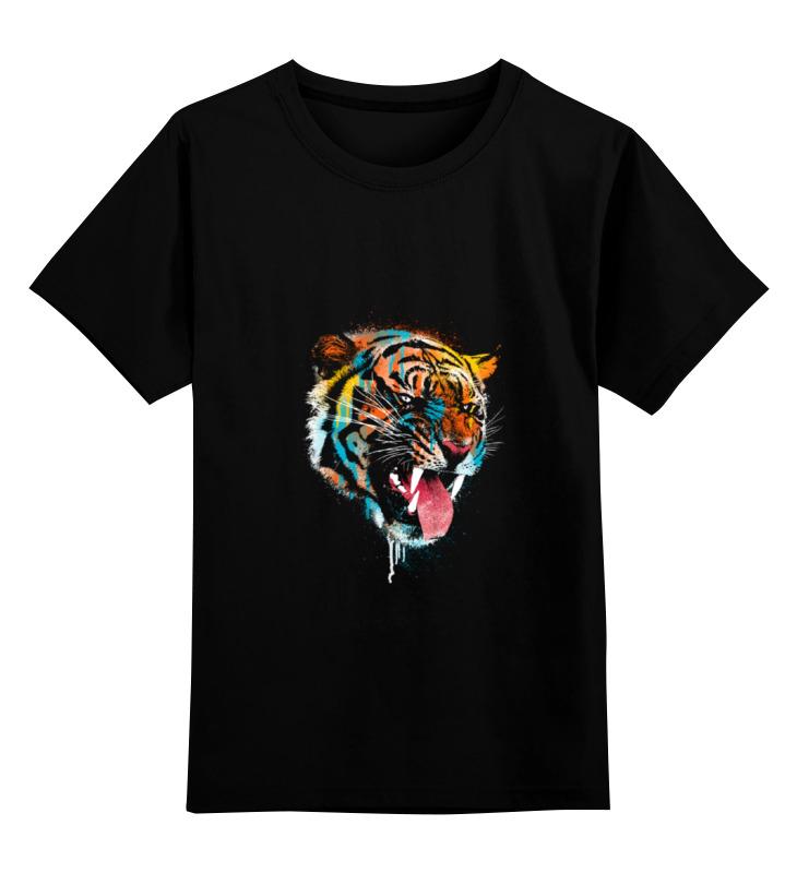 Детская футболка классическая унисекс Printio Tiger детская футболка классическая унисекс printio морда тигра