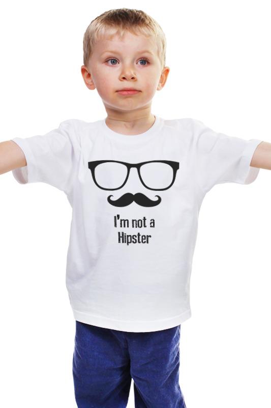Детская футболка классическая унисекс Printio Я не хипстер детская футболка классическая унисекс printio не золотая