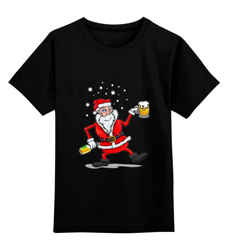 Детская футболка классическая унисекс Printio Happy new year new original ki0209 warranty for two year