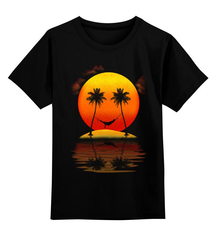 Детская футболка классическая унисекс Printio Солнечная улыбка майка классическая printio футболка улыбка