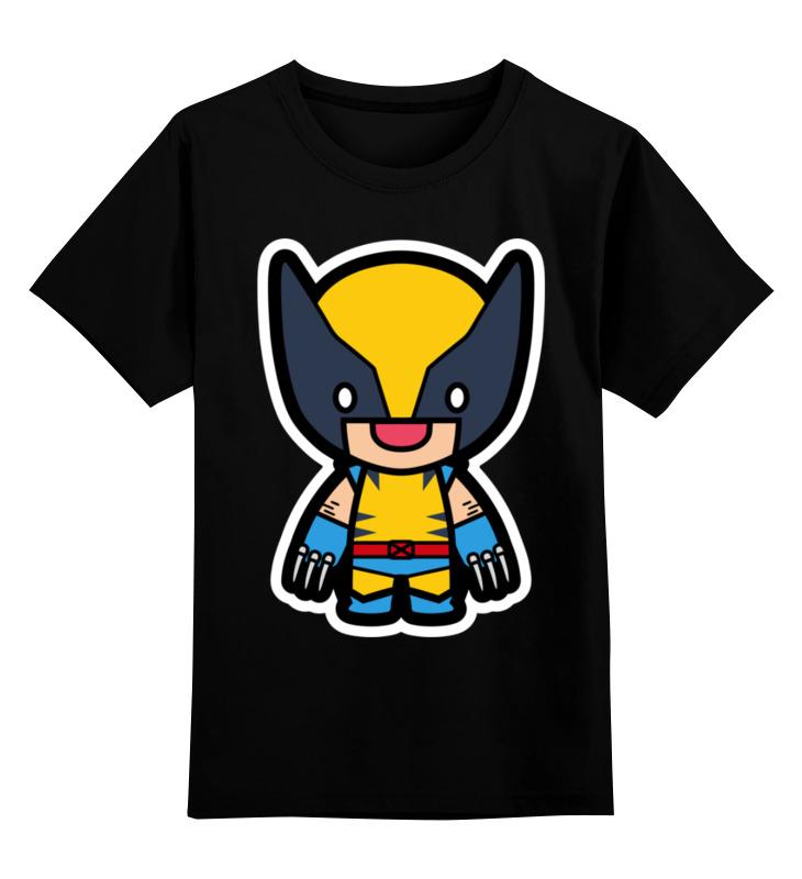 Детская футболка классическая унисекс Printio Росомаха детская футболка классическая унисекс printio миньон росомаха