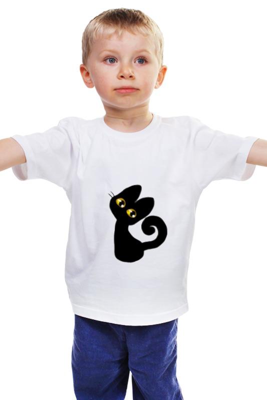 Детская футболка классическая унисекс Printio Котейка) детская футболка классическая унисекс printio мачете