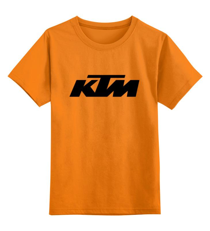 Детская футболка классическая унисекс Printio Ktm moto motorcycle accessories exhaust muffler pipe leg protector heat shield cover for kawasaki ktm yamaha honda bmw ducati dirt moto