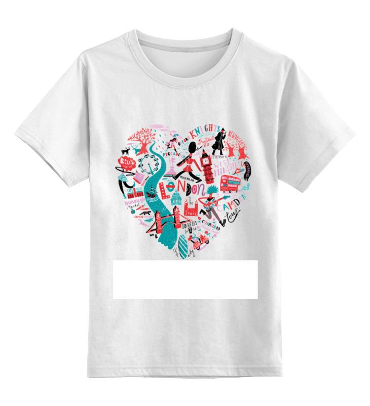 Детская футболка классическая унисекс Printio London ozuna london