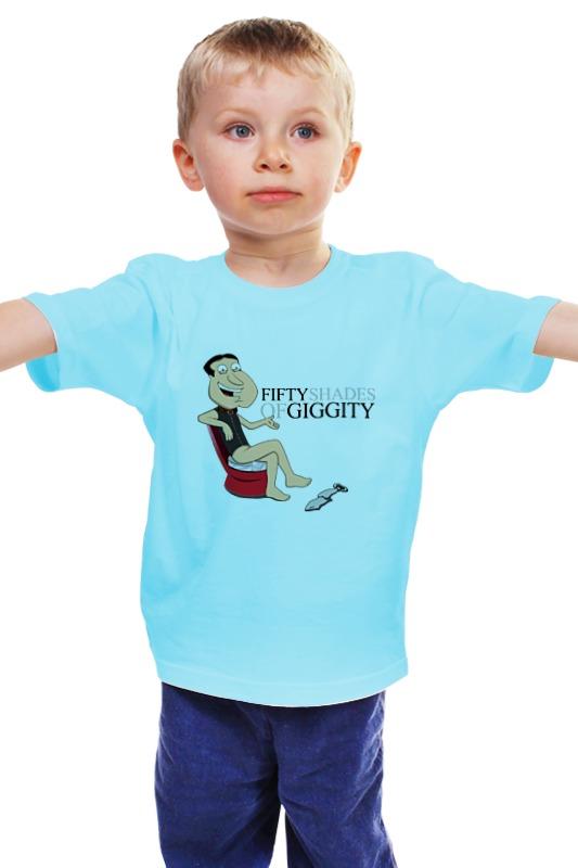 Детская футболка классическая унисекс Printio Fifty shades of giggity fifty shades darker