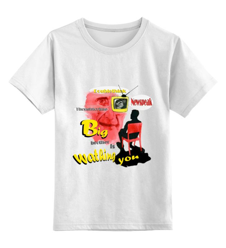 Детская футболка классическая унисекс Printio George orwel by usman детская футболка классическая унисекс printio ты моя мамочка