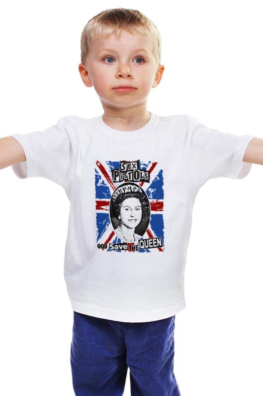 Детская футболка классическая унисекс Printio Sex pistols / god save the queen футболка с полной запечаткой для мальчиков printio god save the queen sex pistols