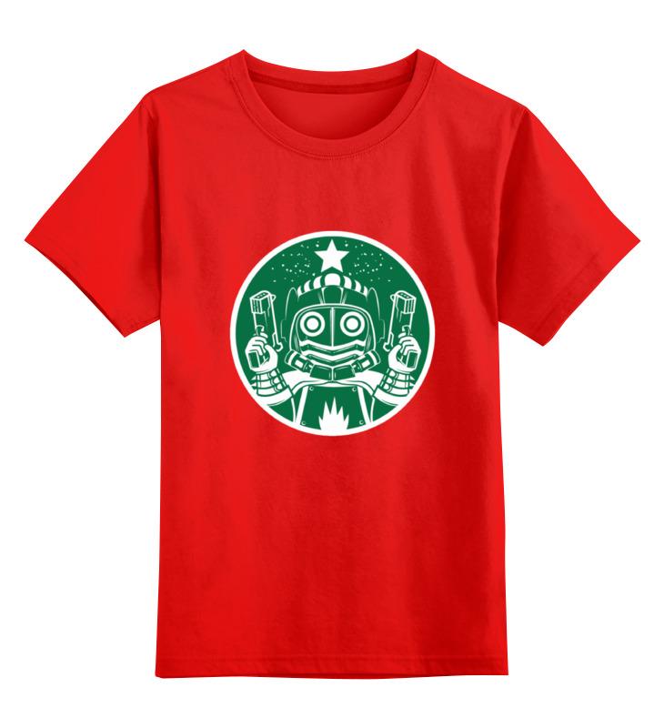 Детская футболка классическая унисекс Printio Star lord smoby детская горка king size цвет красный