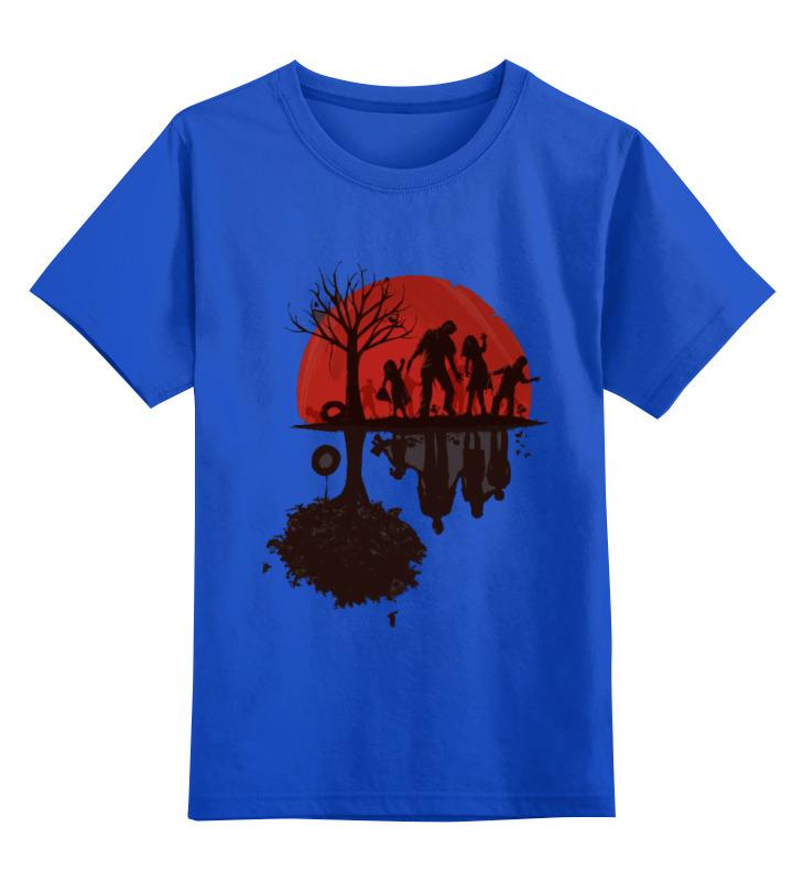 цена на Детская футболка классическая унисекс Printio Zomdie art