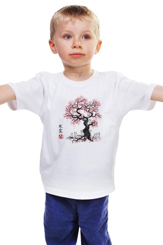 Детская футболка классическая унисекс Printio Лесные духи духи
