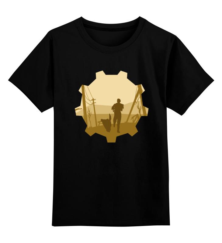 Детская футболка классическая унисекс Printio Vault-tec (fallout)