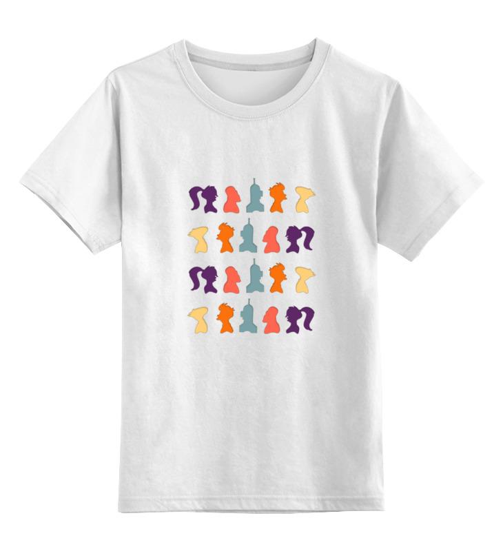 Детская футболка классическая унисекс Printio Футурама. детская футболка классическая унисекс printio rjpiuy