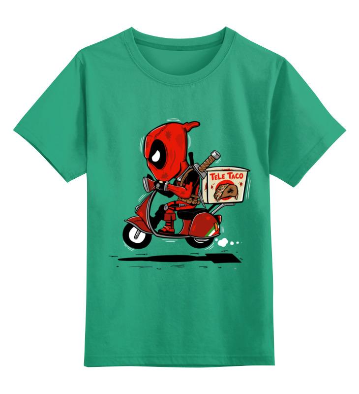 Детская футболка классическая унисекс Printio Дэдпул