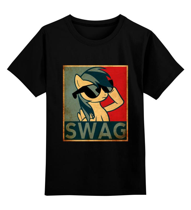 Детская футболка классическая унисекс Printio Пони swag лонгслив printio пони swag