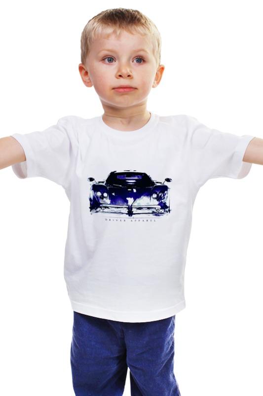 Детская футболка классическая унисекс Printio Пагани зонда - pagani zonda supercar art автобус zonda стоимость в ростове