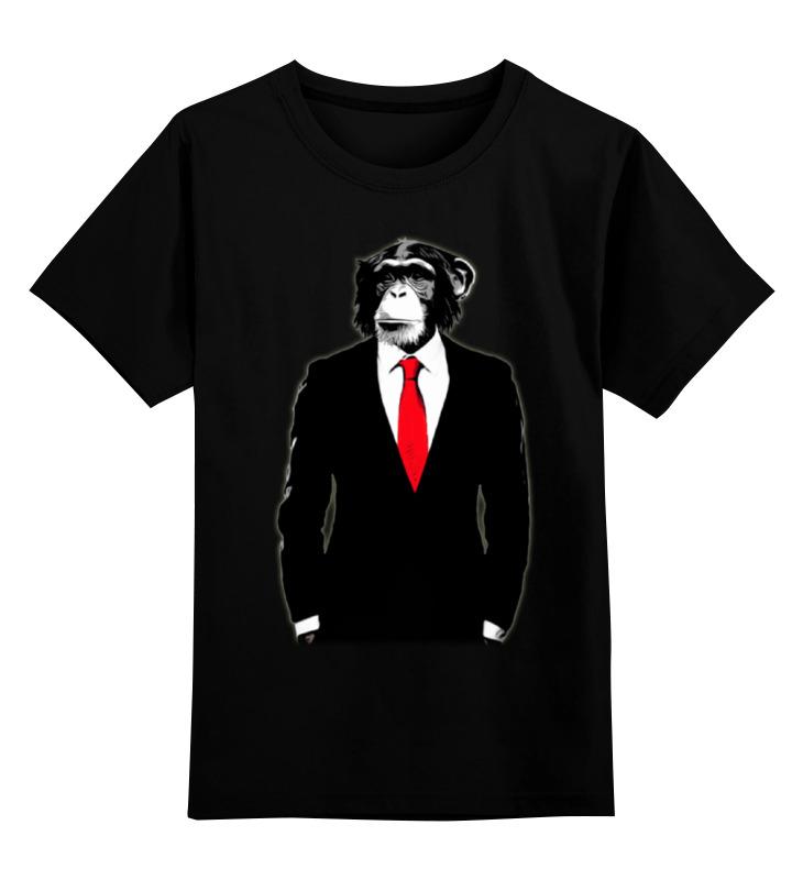 Детская футболка классическая унисекс Printio Мистер обезьяна детская футболка классическая унисекс printio обезьяна менеджер