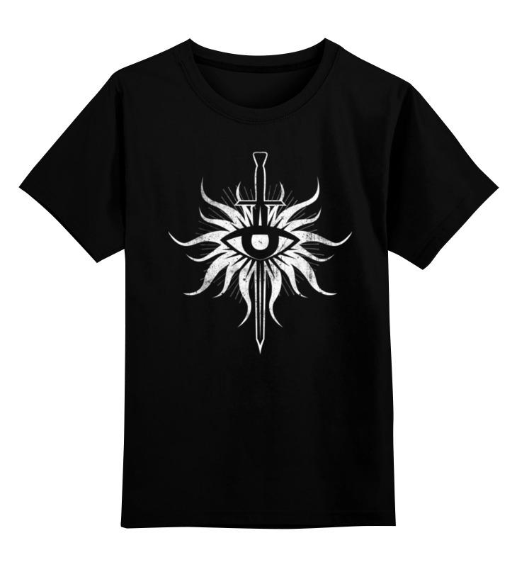 Детская футболка классическая унисекс Printio Dragon age. инквизиция