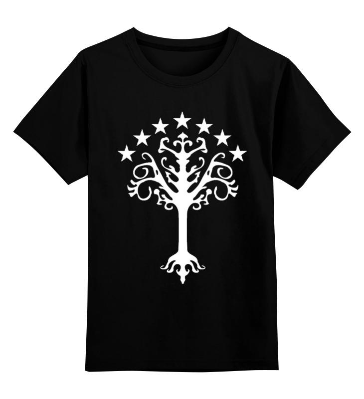 Детская футболка классическая унисекс Printio White tree of gondor 007 rotary double side suction cup car mount holder white