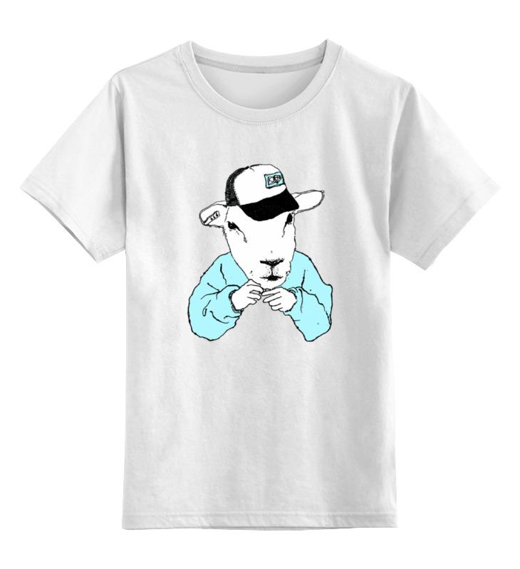 Детская футболка классическая унисекс Printio Барашек хипстер детская футболка классическая унисекс printio мачете