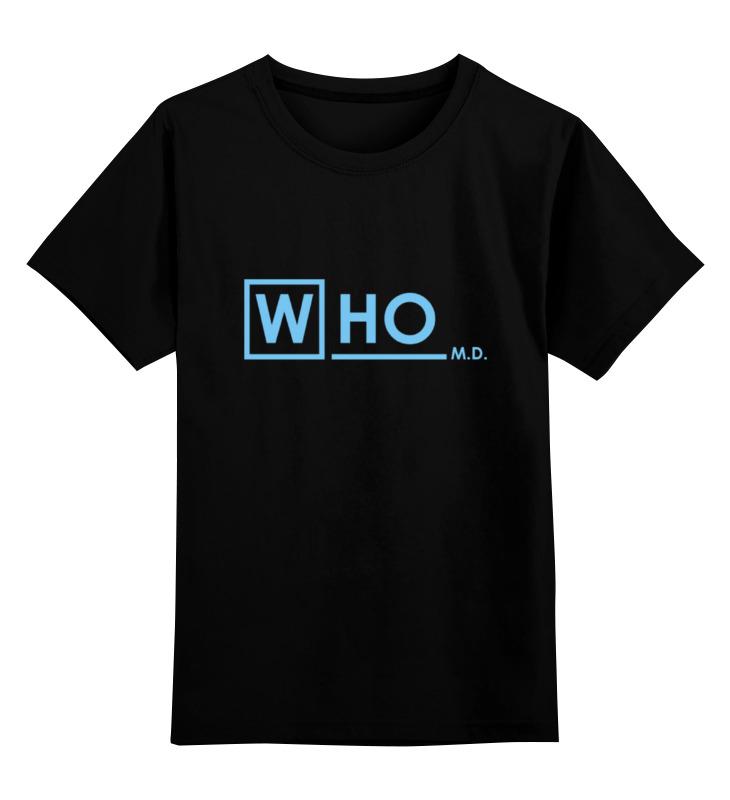 Детская футболка классическая унисекс Printio Who md кабель микрофонный onetech pro two xlr xlr 5 m