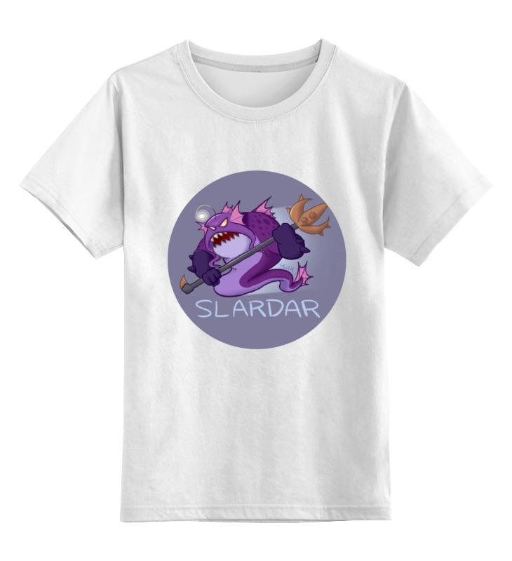 Детская футболка классическая унисекс Printio Dota - slardar детская футболка классическая унисекс printio классическая футболка dota 2