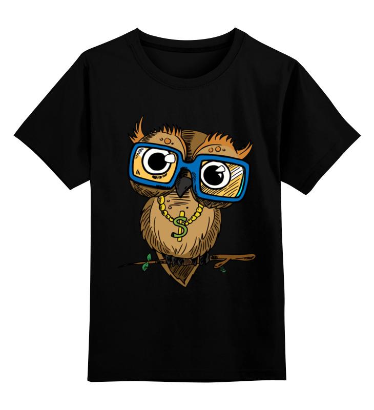 Детская футболка классическая унисекс Printio Сова. детская футболка классическая унисекс printio пачкуля