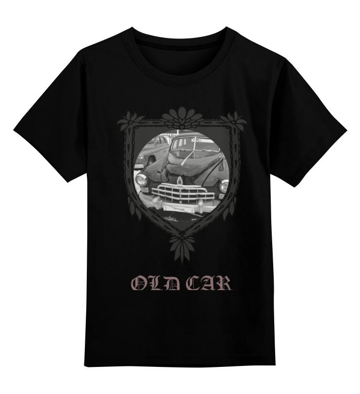 Детская футболка классическая унисекс Printio Old car сумка printio ретро автомобили