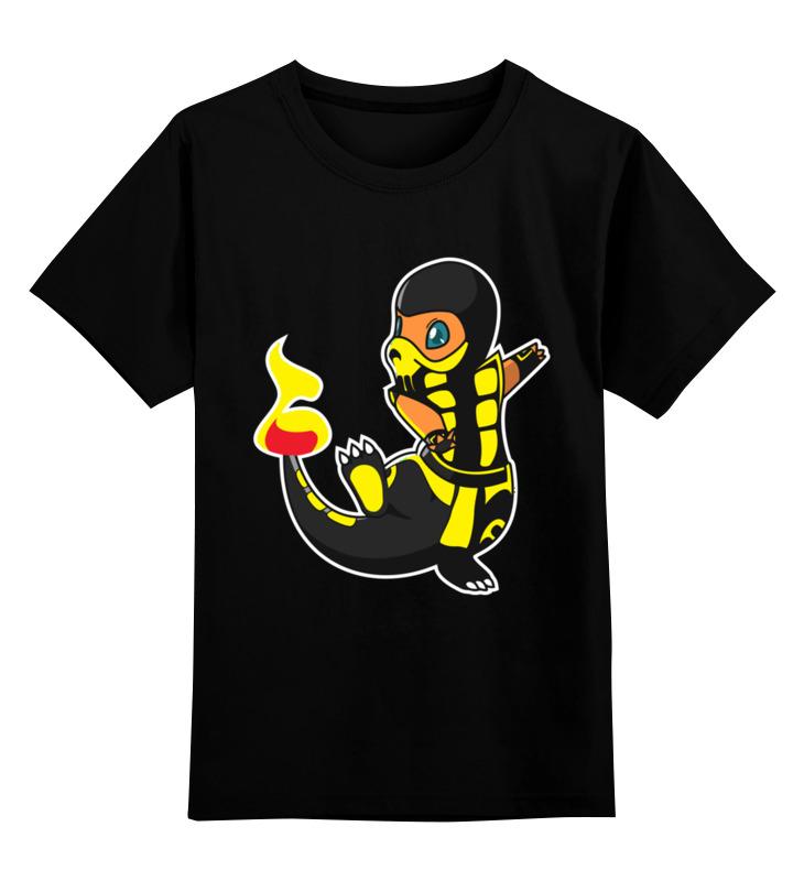 Printio Скорпион детская футболка классическая унисекс printio скорпион