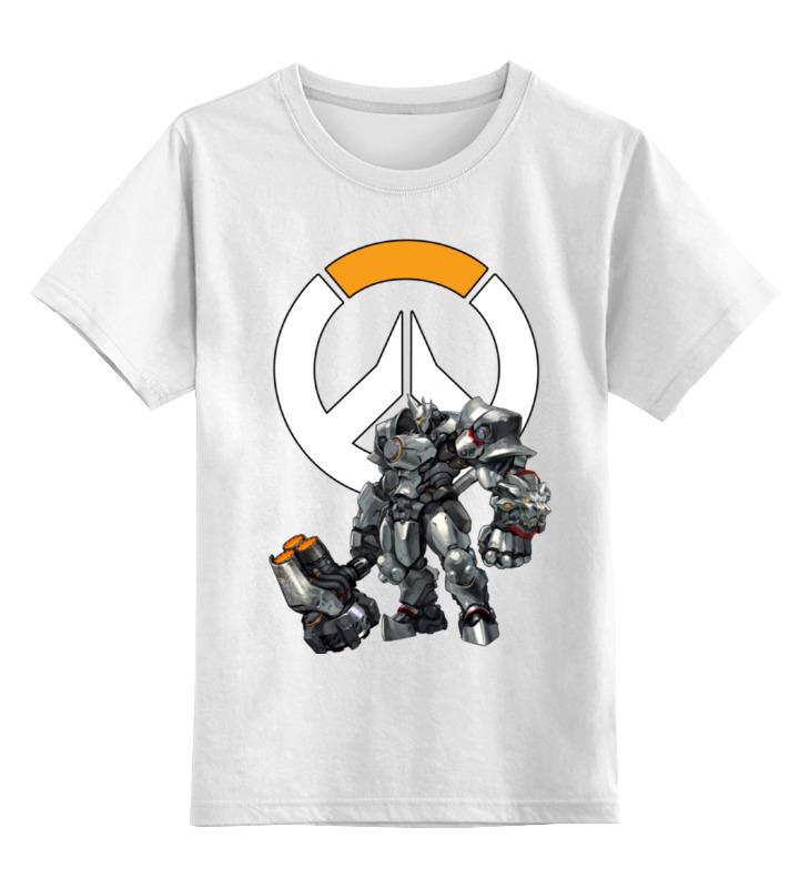 Детская футболка классическая унисекс Printio Reinhardt overwatch / райнхардт овервотч майка print bar reinhardt