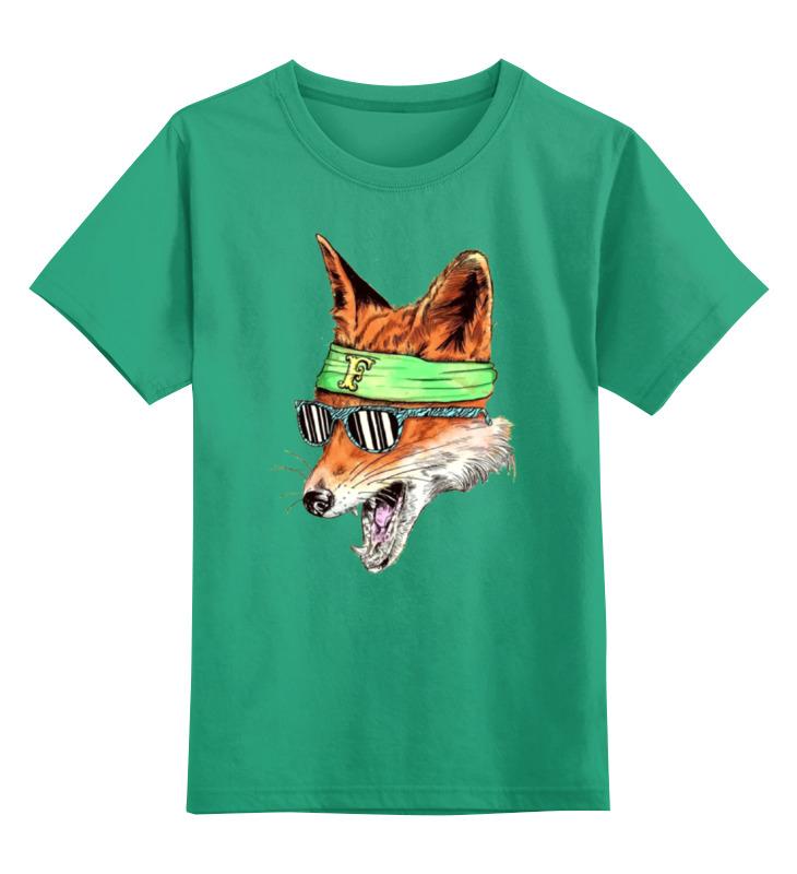 Детская футболка классическая унисекс Printio Лис фанат