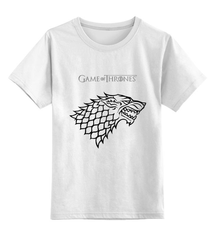 Детская футболка классическая унисекс Printio Game of thrones :stark детская футболка классическая унисекс printio sadhus of india