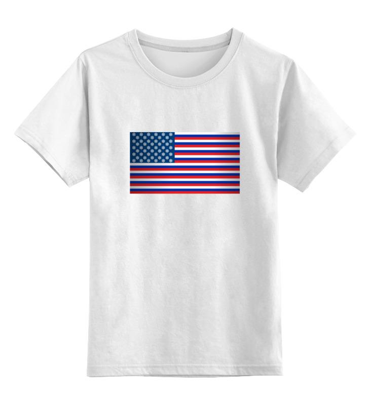 Детская футболка классическая унисекс Printio Штаты россии футболка стрэйч printio штаты россии