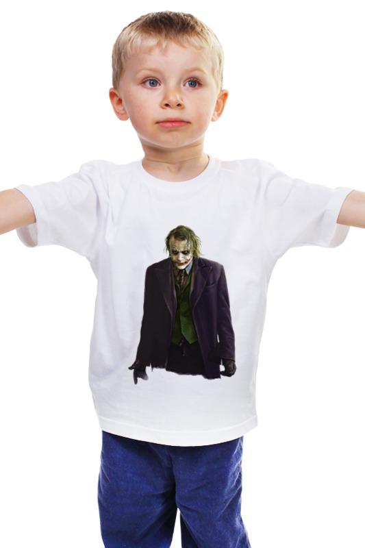 Детская футболка классическая унисекс Printio Джокер детская футболка классическая унисекс printio комиксы