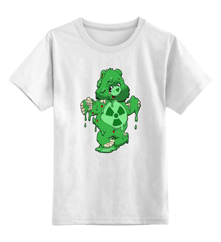Детская футболка классическая унисекс Printio Радиоактивный мишка