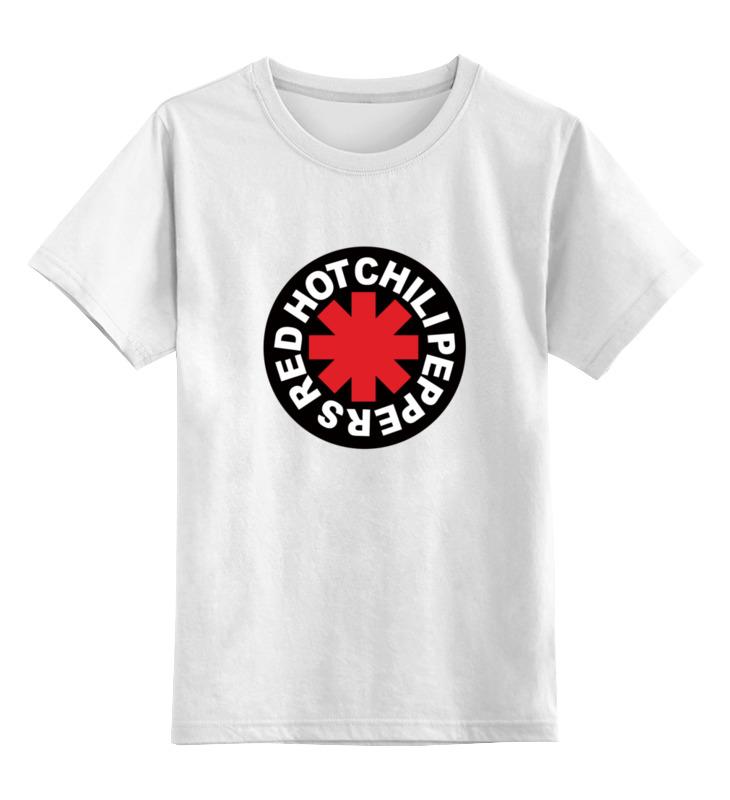 Детская футболка классическая унисекс Printio Для фаната red hot chili peppers футболка классическая printio для фаната red hot chili peppers