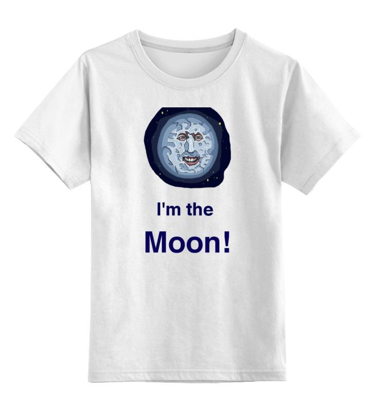 Детская футболка классическая унисекс Printio Луна из mighty boosh mighty samson arch v 4
