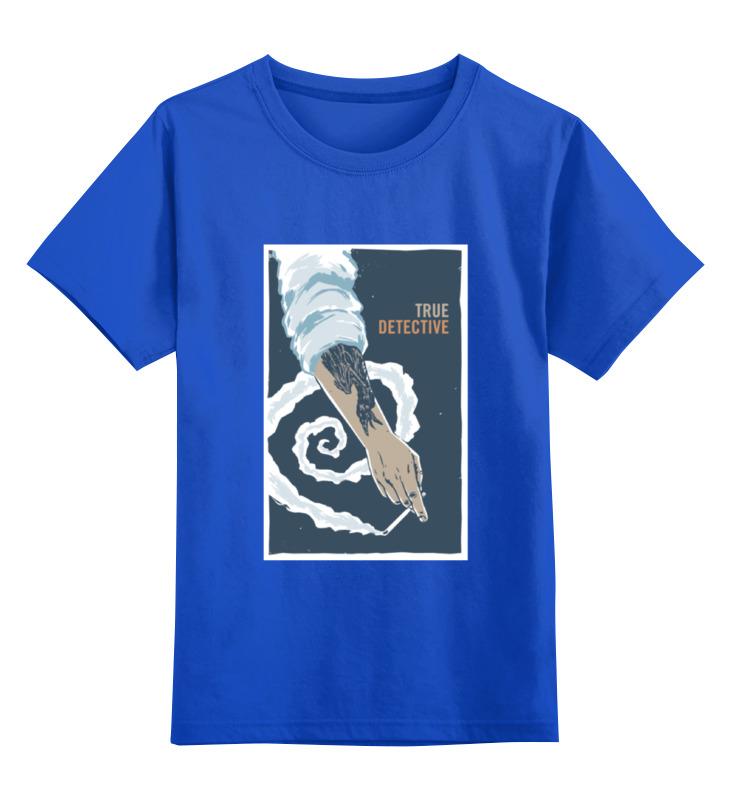 Детская футболка классическая унисекс Printio Настоящий детектив (true detective) сумка printio настоящий детектив true detective