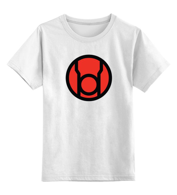 Детская футболка классическая унисекс Printio Красный фонарь smoby детская горка king size цвет красный