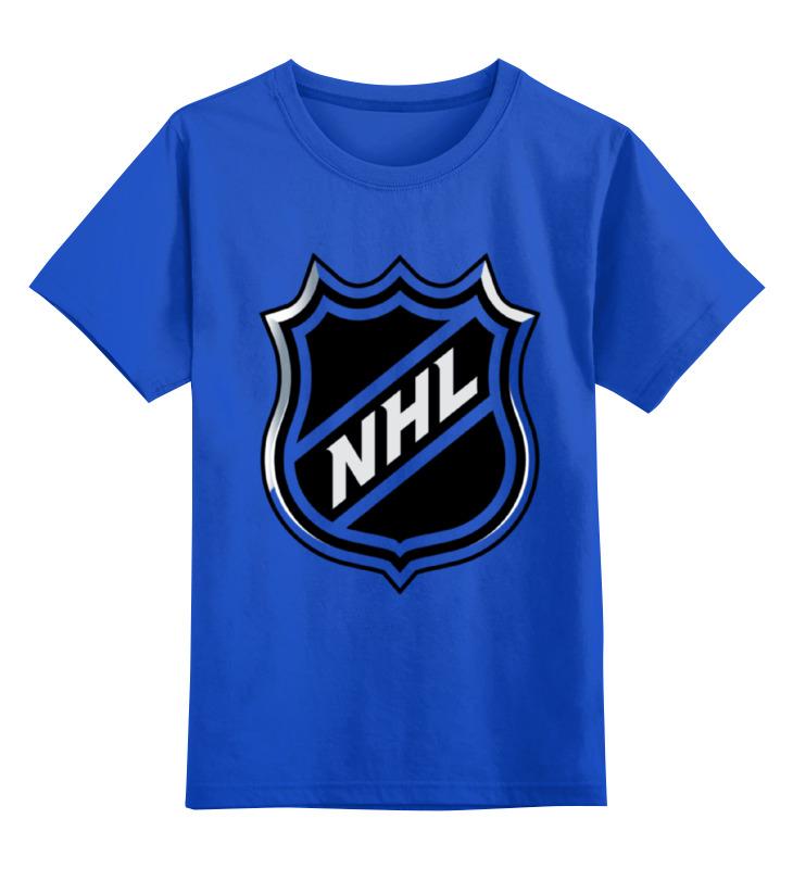 Детская футболка классическая унисекс Printio Nhl(нхл) кепка printio логотип nhl