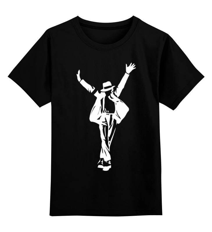 Детская футболка классическая унисекс Printio Майкл джексон (michael jackson) цена и фото