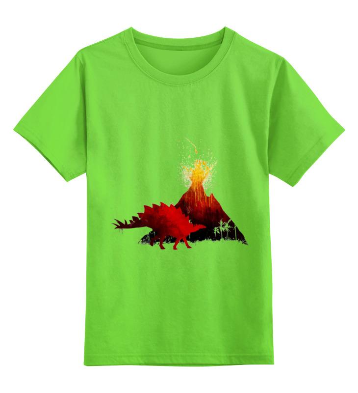 Фото - Детская футболка классическая унисекс Printio Парк юрского периода конструктор nd play автомобильный парк 265 608