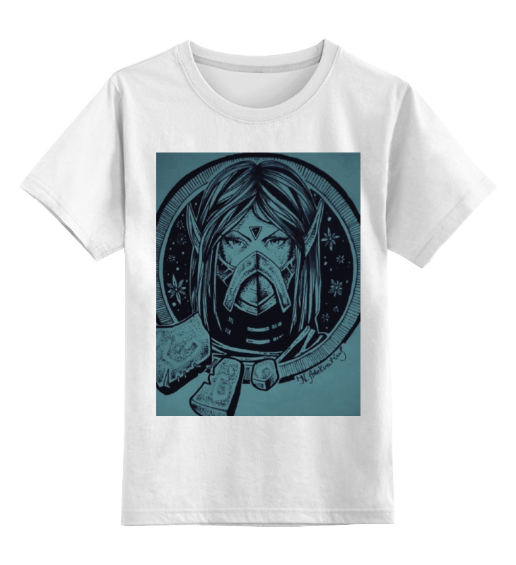 Детская футболка классическая унисекс Printio Dota 2 templar assassin детская футболка классическая унисекс printio saints row 2 blak