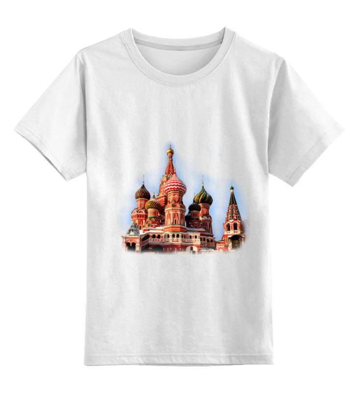 Детская футболка классическая унисекс Printio Moscow